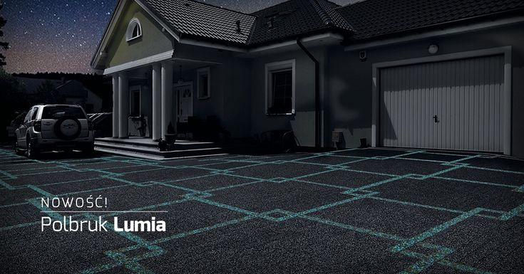 Polbruk Lumia - świecąca kostka betonowa, nowość w ofercie firmy Polbruk. http://www.polbruk.pl/pl/produkty/styl/polbruk-lumia/