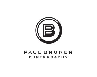 use of color/negative space to emphasize P and B   Paul Bruner Photography by Mike Bruner