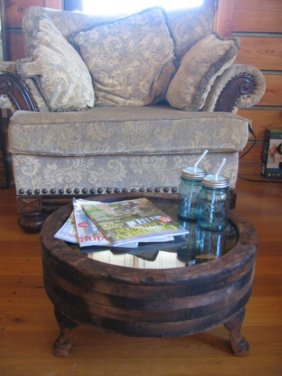 Griss Mill Wheel turned into a Coffee Table  by CoyoteWoodWorks, $275.00