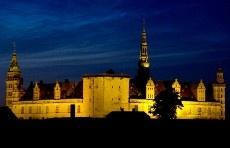 Kronborg Castle in Helsingor, Denmark - Hamlet's Castle