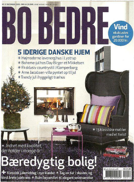 FREEMOVER Rolf™ Candleholders on Bo Bedre Cover December 2009.