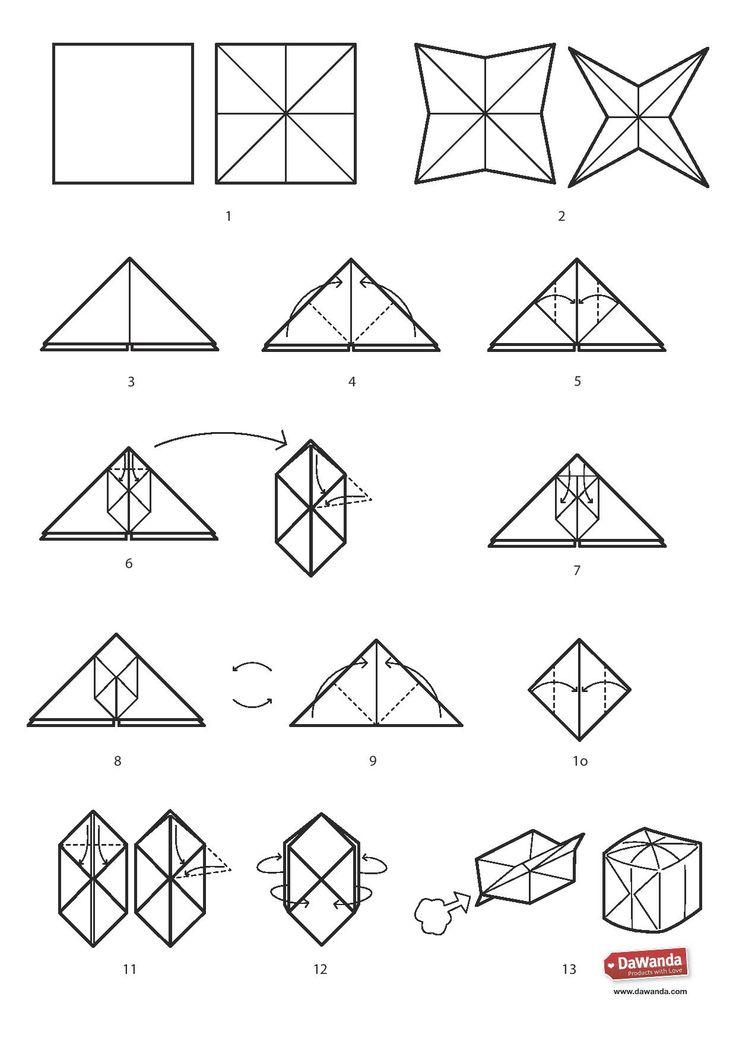 DIY: Lichtsnoer origami ballon