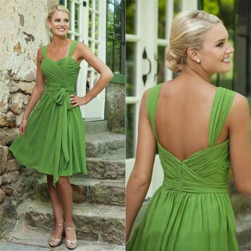 Wholesale Bridesmaid Dress - Buy Cheap Short Lavender Dark Royal Blue Green Red Maid of Honor Dress 2014 Sheer Vintage Knee Length Bridesmaid Dresses Formal Bridesmaids Gown, $48.65 | DHgate