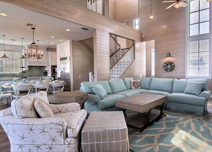 Best 25  Beach style sectional sofas ideas on Pinterest . Beachy Living Rooms. Home Design Ideas