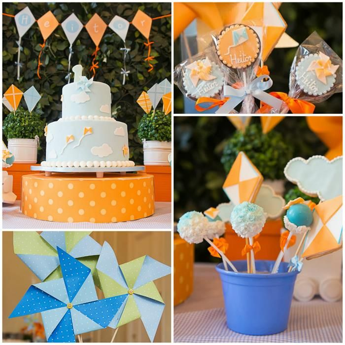 Pinwheels and Kites Party with So Many Cute Ideas via Kara's Party Ideas | KarasPartyIdeas.com #PinwheelsParty #KiteParty #PartyIdeas #Suppl...