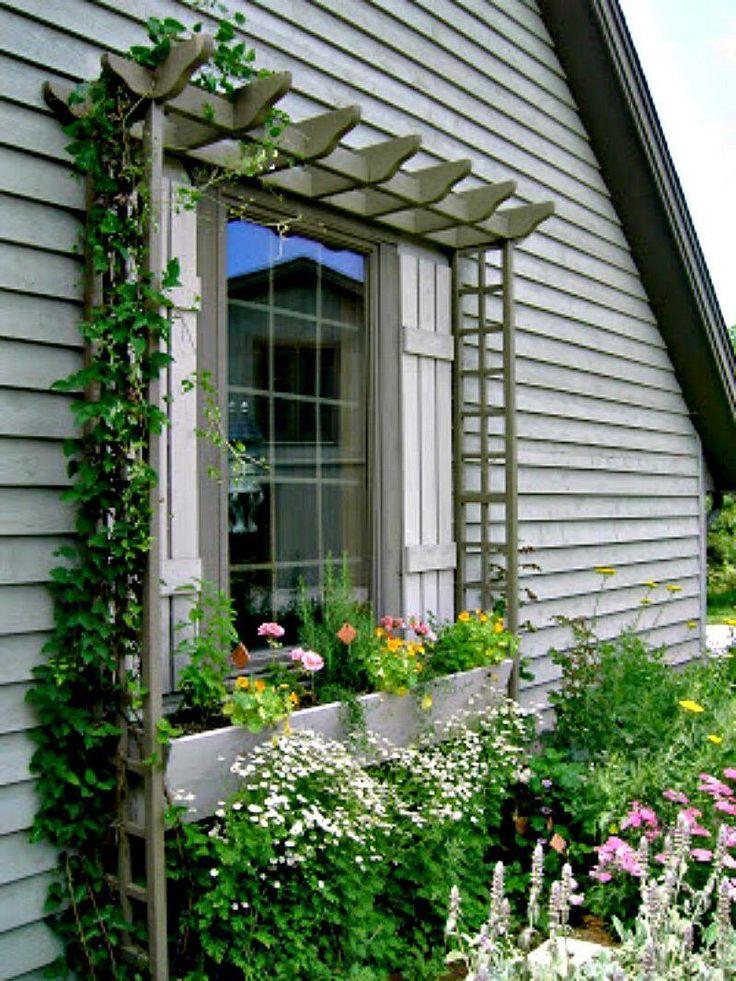 17 best ideas about trellis design on pinterest trellis for Window trellis design