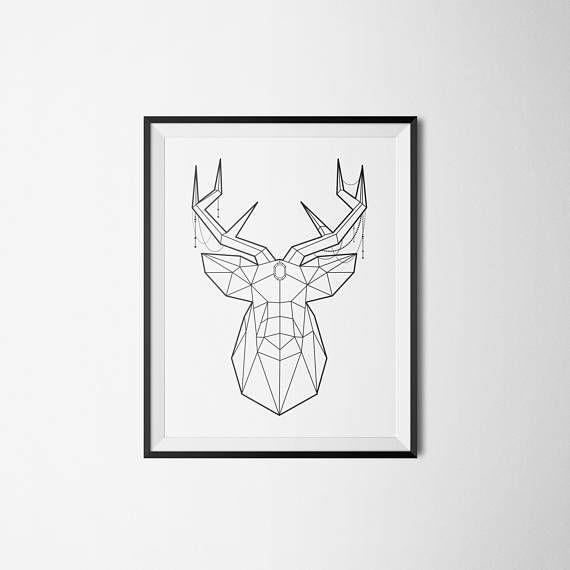 cele mai bune 25 de idei despre tete de cerf origami pe pinterest cerf t te cerf tatouage i. Black Bedroom Furniture Sets. Home Design Ideas