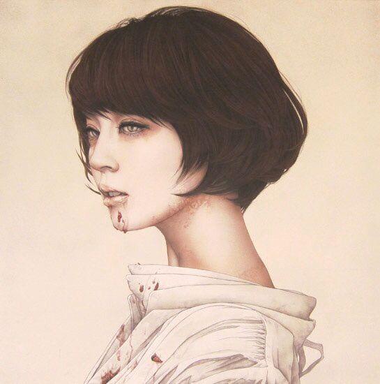 Beautiful portrait by Takahiro Hirabayashi