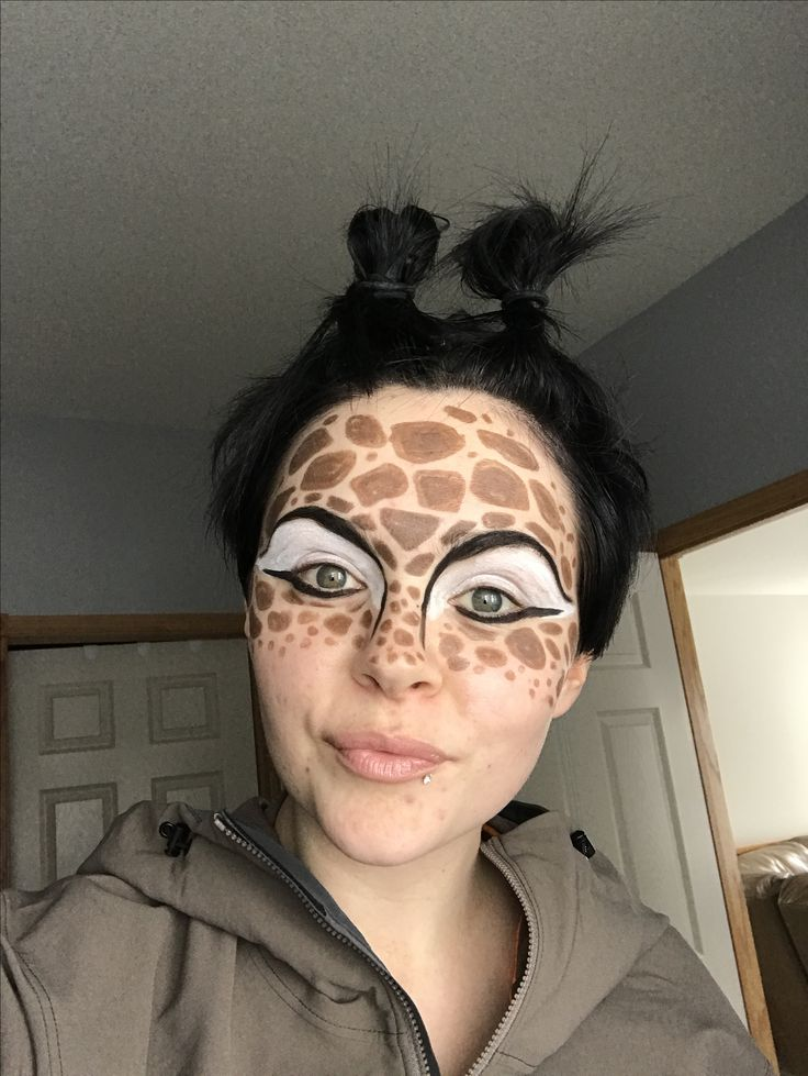 Giraffe makeup! Using all Younique! www.braydievans.com