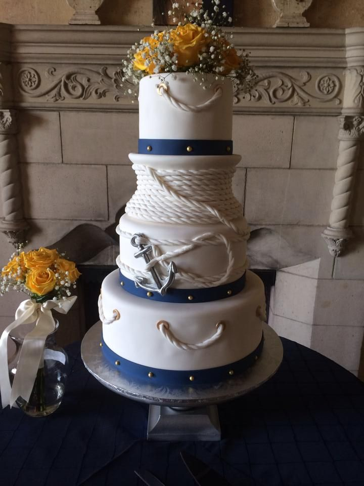 nautical wedding cake ideas 12 best nautical theme wedding cakes ideas images on 17734