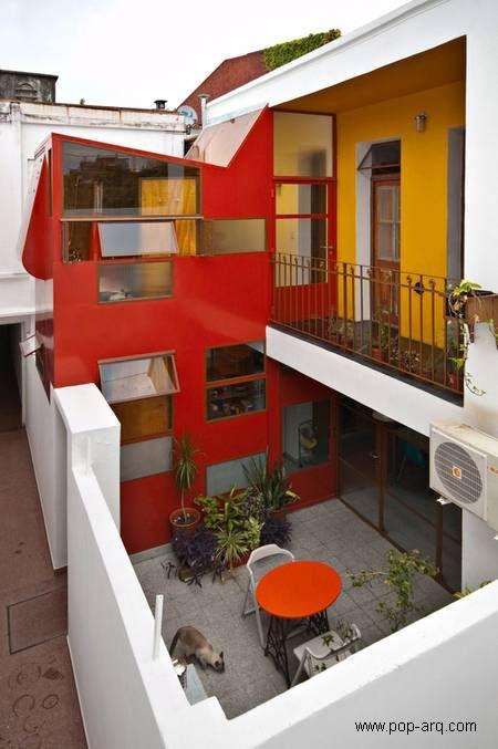 Apartamento de casa chorizo extendido