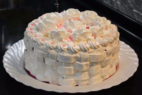 Olasz tortamáz krém! A cukrászok ezzel díszítik a tortákat és a süteményeket!