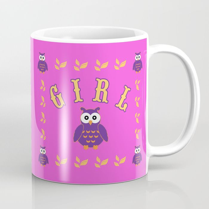 20% Off Mugs Today! Buy Retro Owl Baby Girl  Mug by scardesign. #mug  #milkmug #milk #tea #teamug #baby #babygirl #owl #cute #pink #funny #comic #kids #home #owlmug   #living #society6 #kidsgifts #online #shopping  #awesome #cool #family #popular #art #design #popart #TBT #gifts #giftsforhim #giftsforher #homegifts #39 #giftideas #sale #sales #save #discount #deals