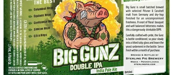 Sterling Pig Brewery Announces Big Gunz Double IPA