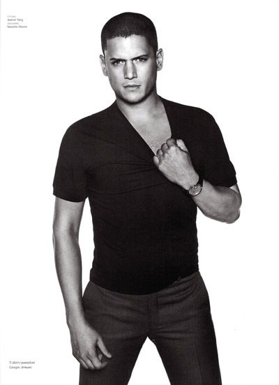 Wentworth Miller love the pose idea sexy without pushing it too far   -> Pose Télévision