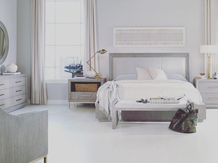 Sunday Scaries no more! The Kendall Bed (MN5706Q) from our Monarch Collection will make you forget about the weekend being over. ••••••••••••••••••• #centuryfurniture #madeinnc #madebyhand #interiordesign #workofart
