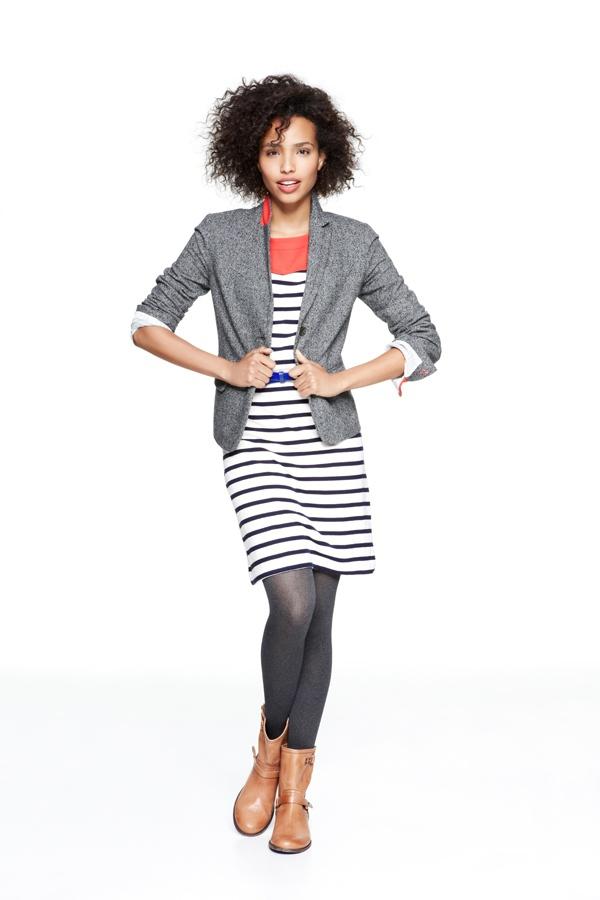Colorblock icon dress #GapLove