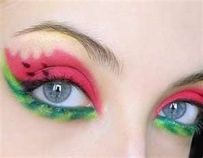 This is awesome.  Watermelon eyes.  Sweet ;)