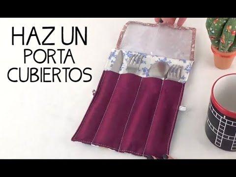 En este video te mostramos como hacer un porta-cubiertos portátil, esta bolsita con separaciones es muy fácil de hacer, así que anímate con este nuevo proyecto.
