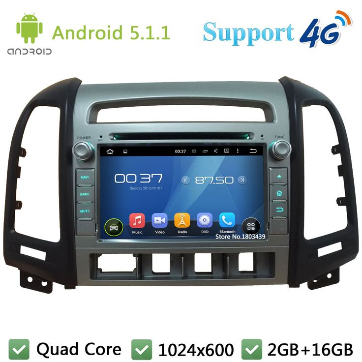 """QuadCore 7"""" 1024*600 Android 5.1.1 Car Multimedia DVD Player Radio DAB+ 3G/4G WIFI GPS Map For Hyundai SANTA FE 4 Hole 2006-2011     Tag a friend who would love this!     FREE Shipping Worldwide   http://olx.webdesgincompany.com/    Get it here ---> http://webdesgincompany.com/products/quadcore-7-1024600-android-5-1-1-car-multimedia-dvd-player-radio-dab-3g4g-wifi-gps-map-for-hyundai-santa-fe-4-hole-2006-2011/"""