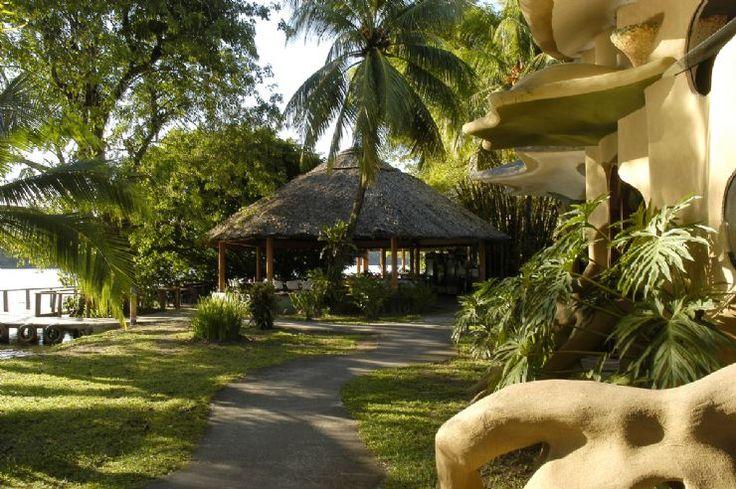 Front Bar at Laguna Lodge Tortuguero…