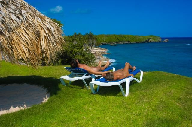 Pack Light: Caliente Caribe Resort and Spa in Puerto Plata, Dominican Republic is one of many nudist resorts in the Caribbean.