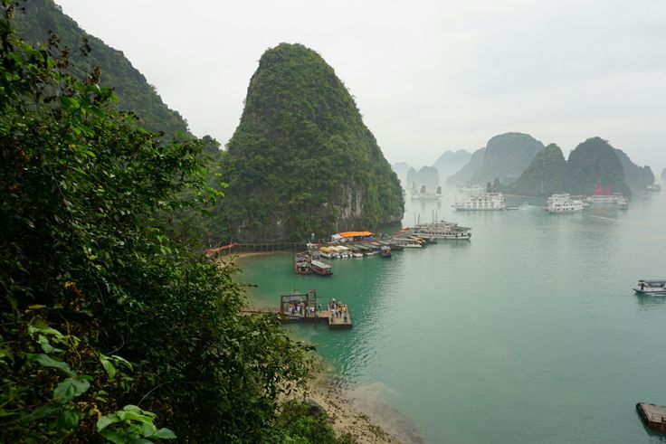 Halong bay from sung sot cave