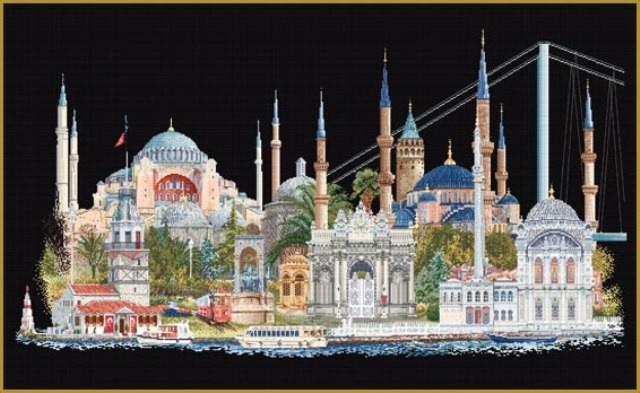 Thea Gouverneur Istanbul - Borduurpakket