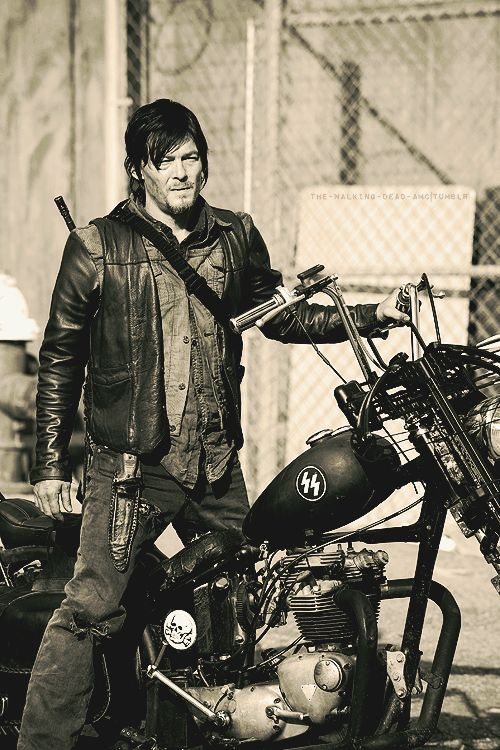 The Name Of Show Should Be Changed From Walking Dead To Riding Daryl And Have More Scenes A Motorcycle Killing Shit