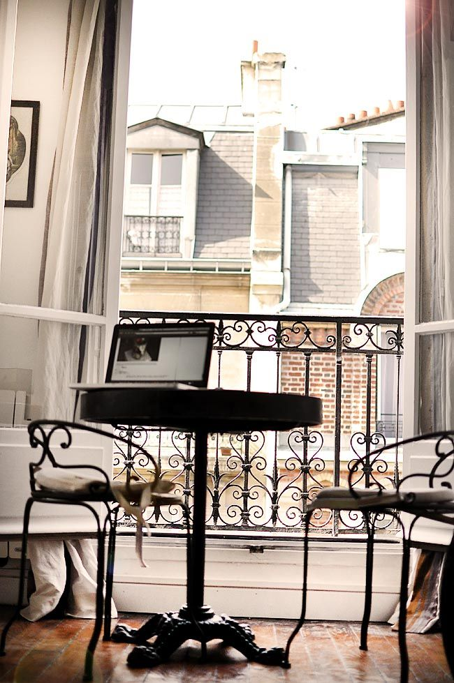 Paris apartment.                                                                                                                                                                                 More
