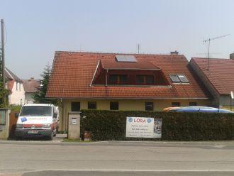 Solární ohřev Boršov nad Vltavou