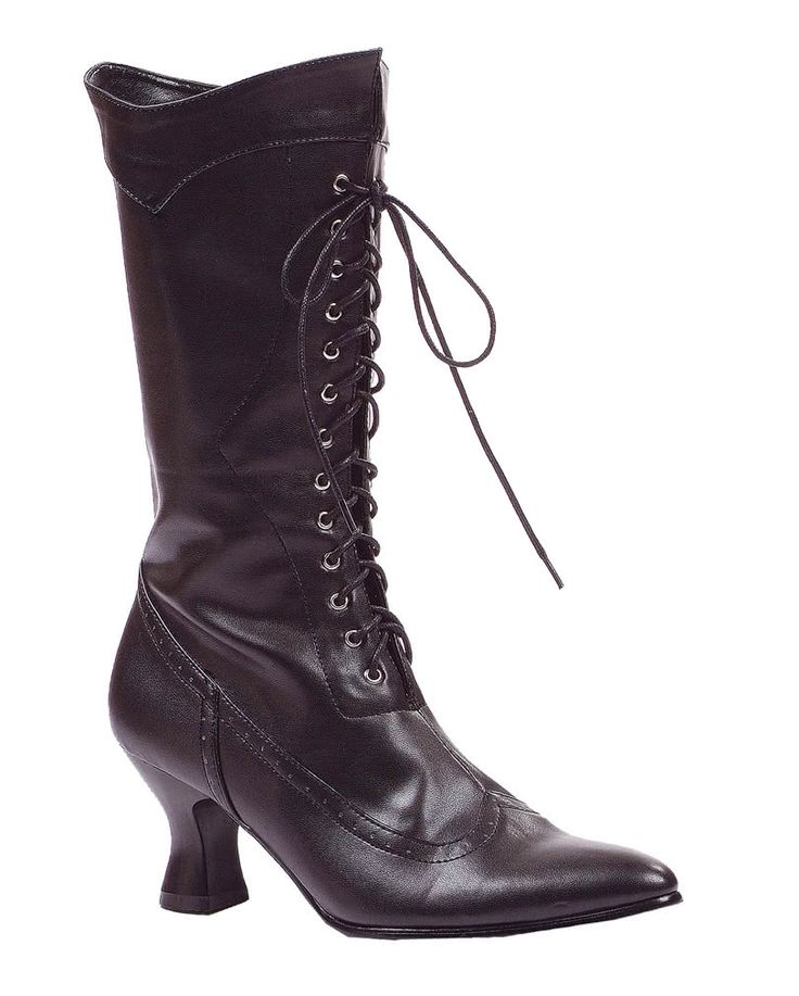 Schwarze Hexen Stiefel Amelia | Kostümschuhe kaufen  | Karneval Universe