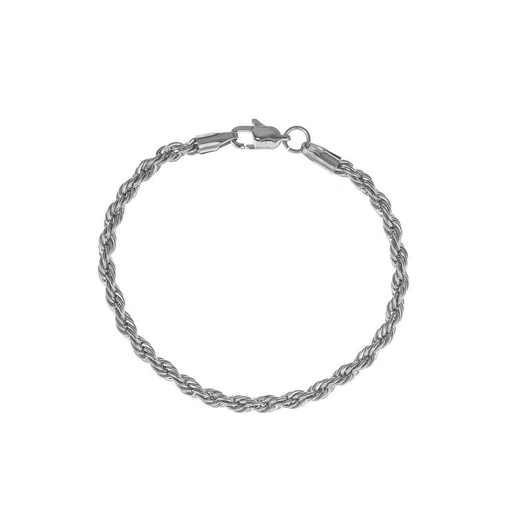 Mister Rope Bracelet - Chrome