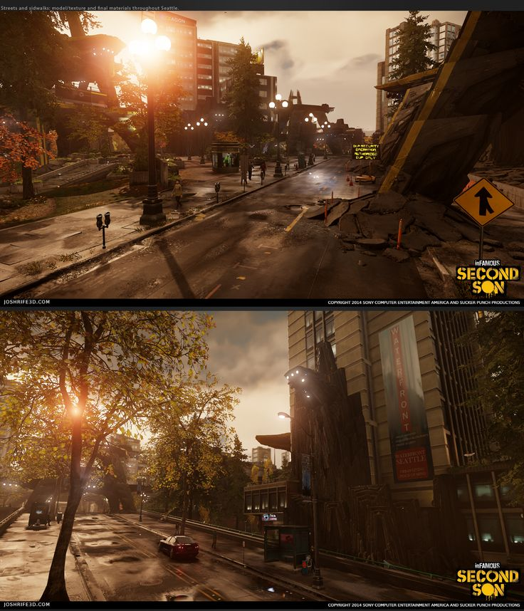 inFamous: Second Son Environments **Image Heavy** - Polycount Forum