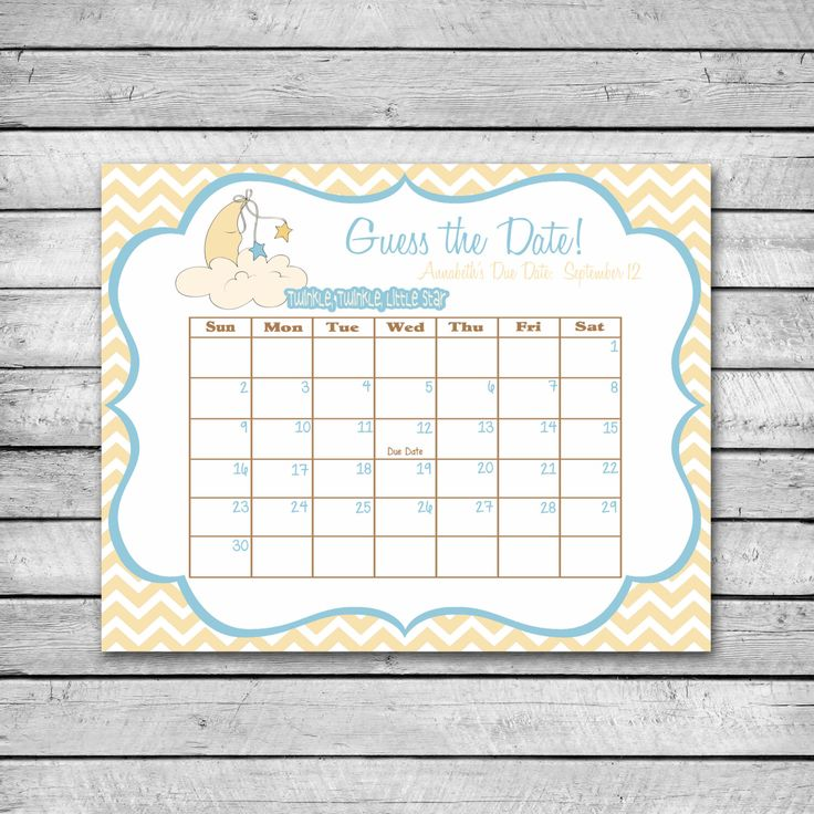 1000 Ideas About Twinkle Twinkle On Pinterest: 1000+ Ideas About Due Date Calendar On Pinterest