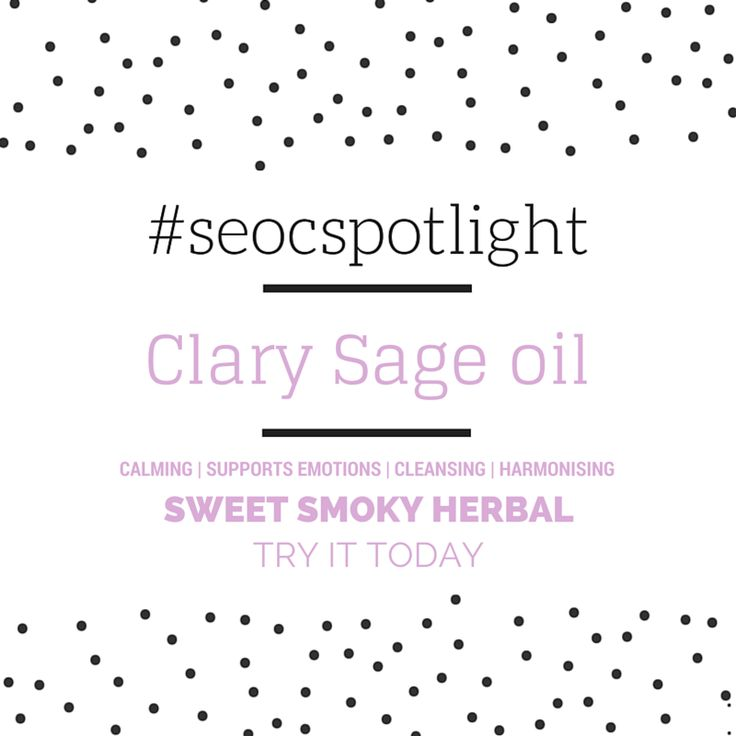 #SEOCSpotlight | Clary Sage Oil Russia | New Essential Oil | Online at www.seoc.com.au