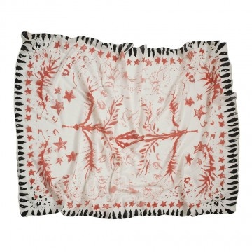 Sarong with red stars by Beck Sondergaard.