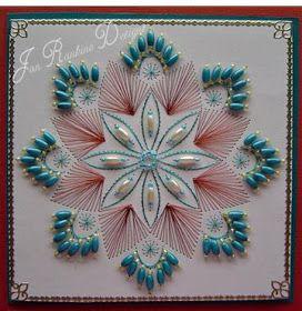 Cardmaking Online: Beads, Beads, Beads by Jan Rankine