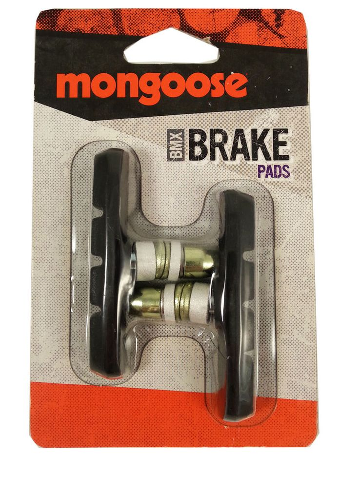 NEW - Mongoose Brake Pad Black - Bmx Bike Brakes #Mongoose