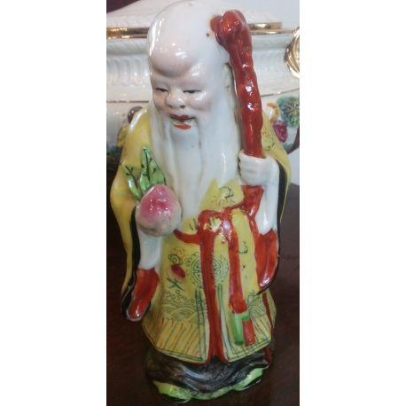 SHOU XING or SHOU LAO chinese porcelain figurine