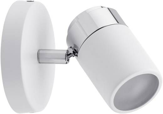 Badkamer wandlamp LED GU10 10 W Paulmann Zyli 66710 Wit, Chroom