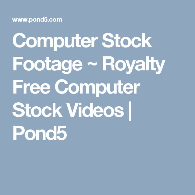 Computer Stock Footage ~ Royalty Free Computer Stock Videos | Pond5
