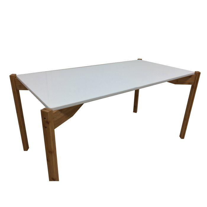 Zora Extra Long Bamboo Coffee Table Hayneedle Bamboo Coffee Table Coffee Table Wood Coffee Table