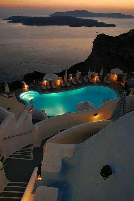 Gorgeous Volcano view, Santorini, Italy.