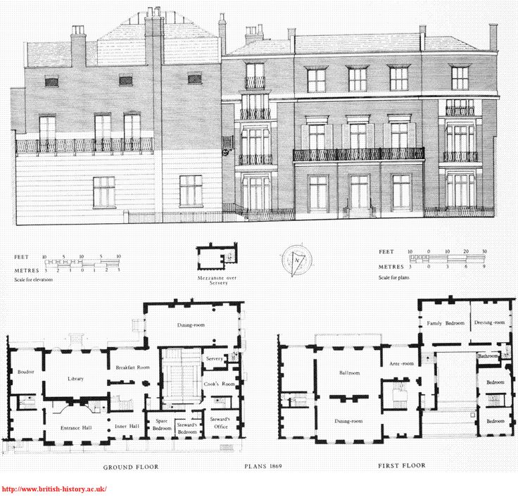 Hampden house 61 green st london england owned by for Marlborough house floor plan
