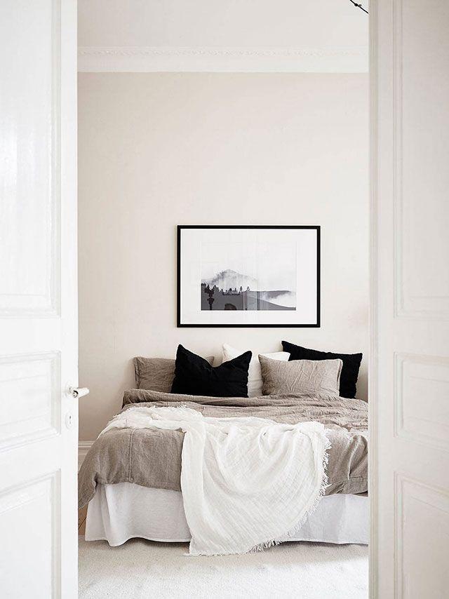 Déco couleur lin : un élégant intemporel   Chambre cosy et ...