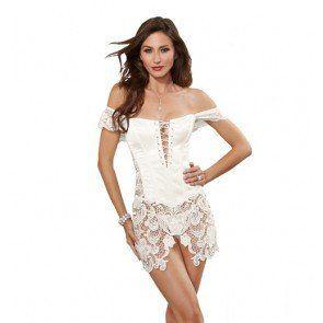 Dream girl ais Beyonce inspired satin corset 10028
