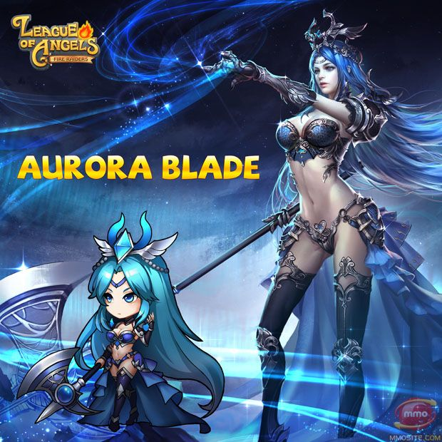 aurora blade avatar league of angels   League of Angels – Fire Raiders Update 3.5 Released