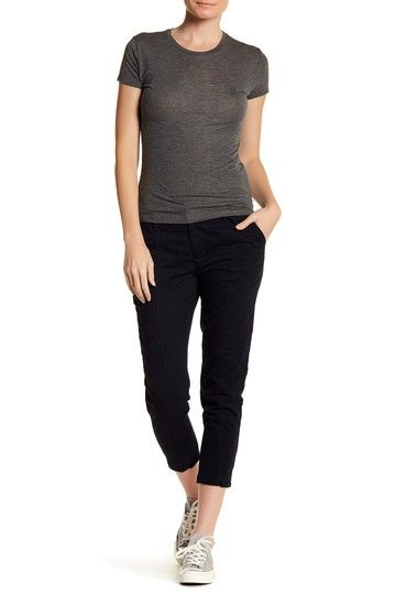 Casual Cropped Pant by Joe Fresh on @nordstrom_rack
