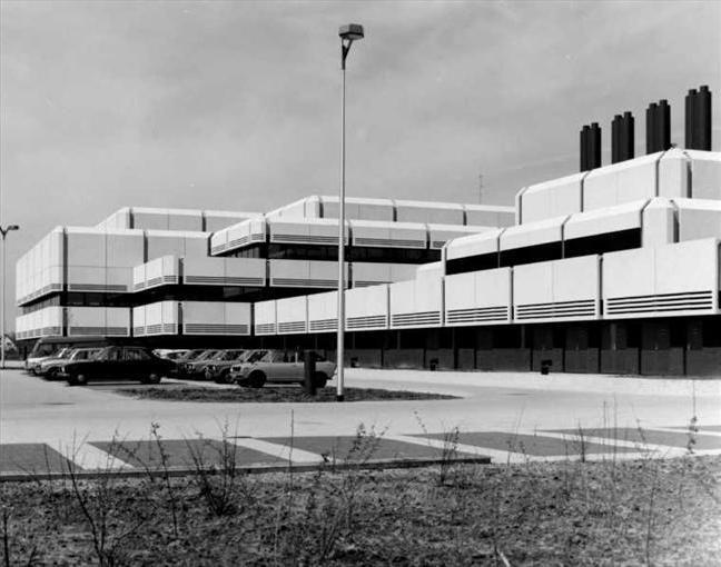 Computing Center (1975) in Leusden, the Netherlands, by R.D. Bleeker